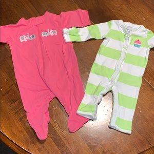Baby onesies set (NEW)